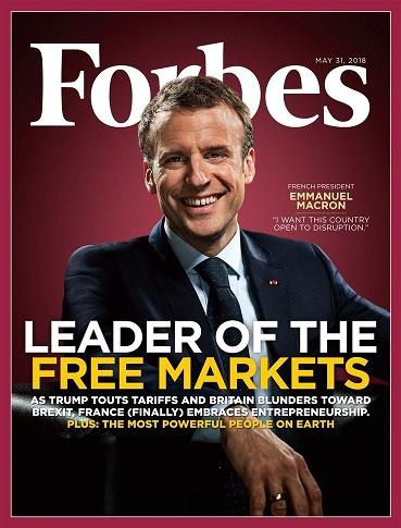 Emmanuel Macron: Robin de lafinance